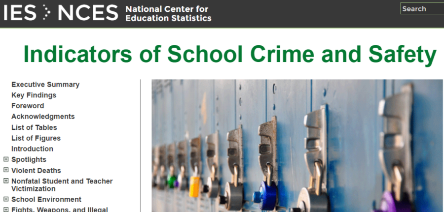 NSV Highlight on: Indicators of School Crime andSafety