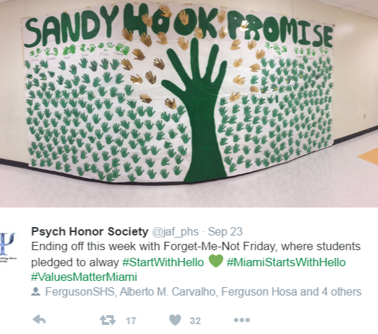Students 'Say Something' with Sandy Hook Promise