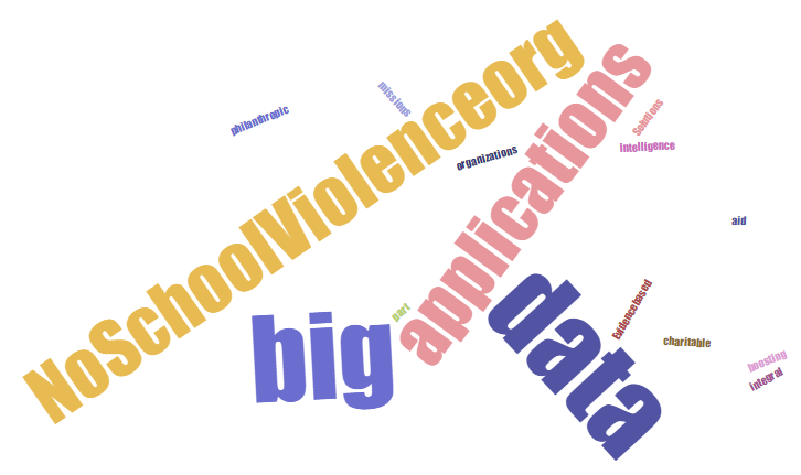 Using Big Data for the Greater Good